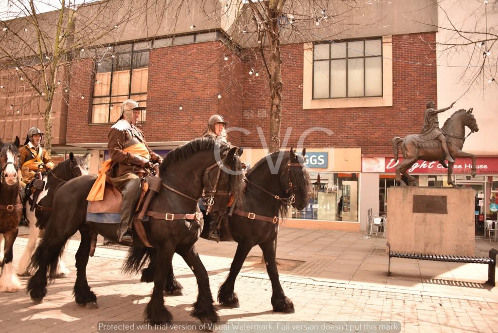 2 cavalry and Nerva