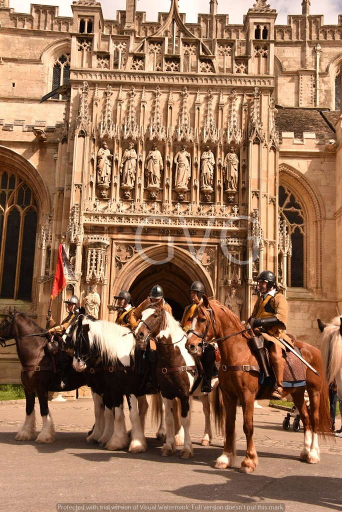 4 Cavalry at Cathedral